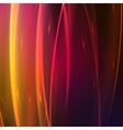 Abstract background with glow effect vector image