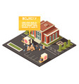 fast delivery service concept vector image vector image