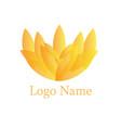 flower yoga vector image