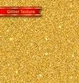 glitter seamless pattern golden luxury wallpaper vector image