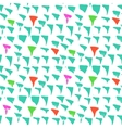 Grunge pattern with small drawn triangles vector image vector image