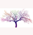 magic apple tree vector image vector image