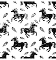 Seamless gray and white pattern vector image