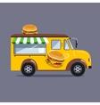 Street food van vector image vector image