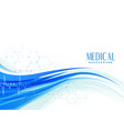 abstract medical healthcare background design vector image