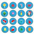 Christmas design icons set