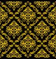 Classic damask wallpaper or fabric print pattern