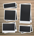 collection of photo frames design vector image