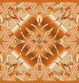 cute flower pattern flat flower elements design vector image