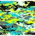 decorative retro colored squares vector image vector image
