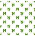 letter n made of green slime vector image