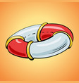 life buoy icon cartoon style vector image