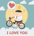 miracle love vector image
