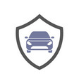 protect car guard shield safety badge vehicle vector image vector image