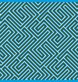 seamless maze texture vector image vector image