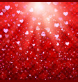 valentine s day love and feelings background vector image