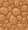 wall with rocks or stones texture seamless pattern vector image
