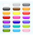 web buttons vector image