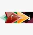 arrows abstract composition for banner background vector image