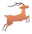 Cartoon deer animal vector image vector image