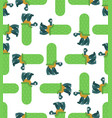 turtle pattern seamless amphibian background vector image vector image