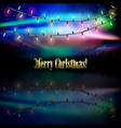 abstract celebration dark background with vector image
