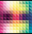 abstract triangle pattern in background design vector image