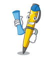architect pen can be used for mascot vector image