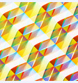 colorful mosaic geometric background vector image vector image