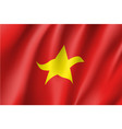 flag of socialist republic of vietnam vector image vector image