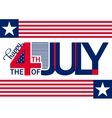 happy independence day horizontal background july vector image vector image