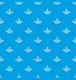 sleeping pill pattern seamless blue vector image