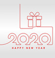 2006 happy new year gift vector image
