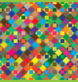 abstract geometric pattern with colorful elements vector image vector image