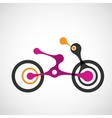 abstract moto transport eps vector image vector image