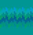 pixel blue knit pattern background vector image vector image