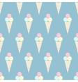Ice cream pattern - stock vector image