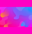 abstract fluid color pattern background vector image vector image