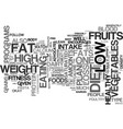 free weight loss plan text background word cloud vector image vector image