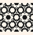geometric ornament seamless pattern hexagons vector image vector image