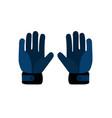 goalkeeper gloves sport vector image vector image
