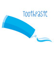 toothbrushes on white background vector image vector image