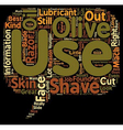 Dave s Shave Tips text background wordcloud vector image vector image