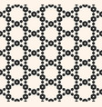 geometric seamless pattern with delicate mesh vector image vector image