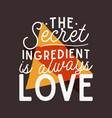 love concept inspirational quote design vector image
