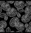 plaid seamless pattern with roses modern design vector image vector image