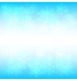 snowflakes and bokeh vector image