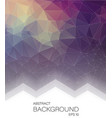 abstract vertical 2d geometric background vector image
