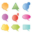 chat boxes vector image