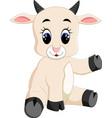 cute baby goat cartoon